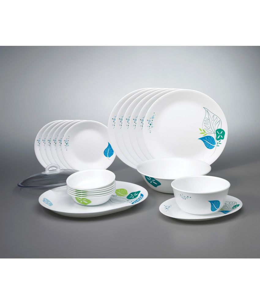 Corelle 21 Pcs Dinner Set-India Collection Foliage  sc 1 st  Snapdeal & Corelle 21 Pcs Dinner Set-India Collection Foliage: Buy Online at ...