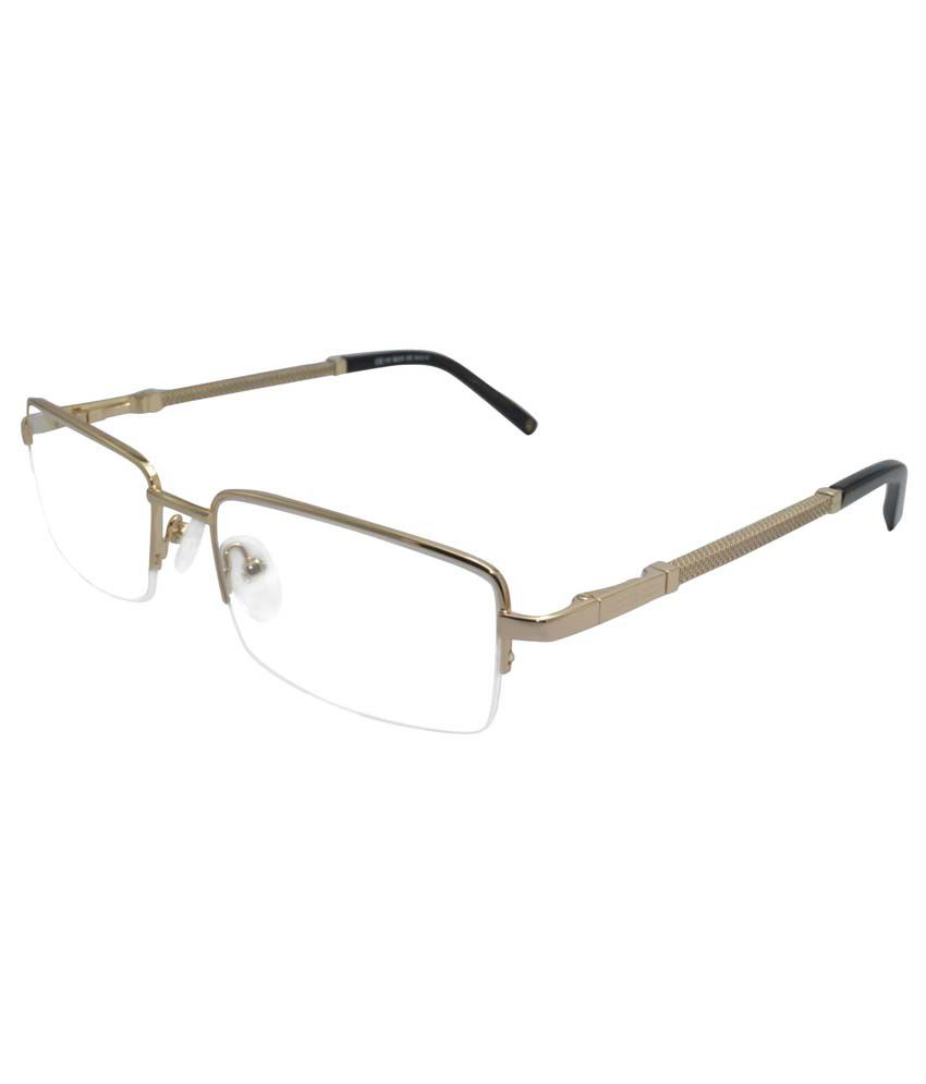 Designer Gold Eyeglass Frames : David Jones 229 Designer Gold Halfrim Eyeglasses - Buy ...