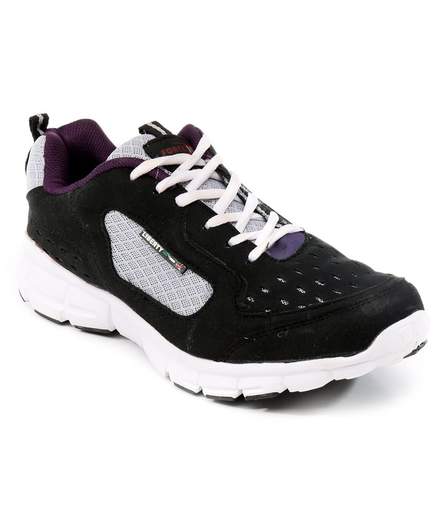 d7f631c849 Liberty Black Sport Shoes - Buy Liberty Black Sport Shoes Online at Best  Prices in India on Snapdeal