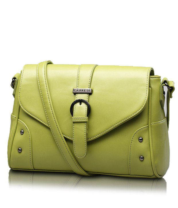 Caprese Caprese Clara Medium Leaf Green Sling Bag - Buy Caprese ...