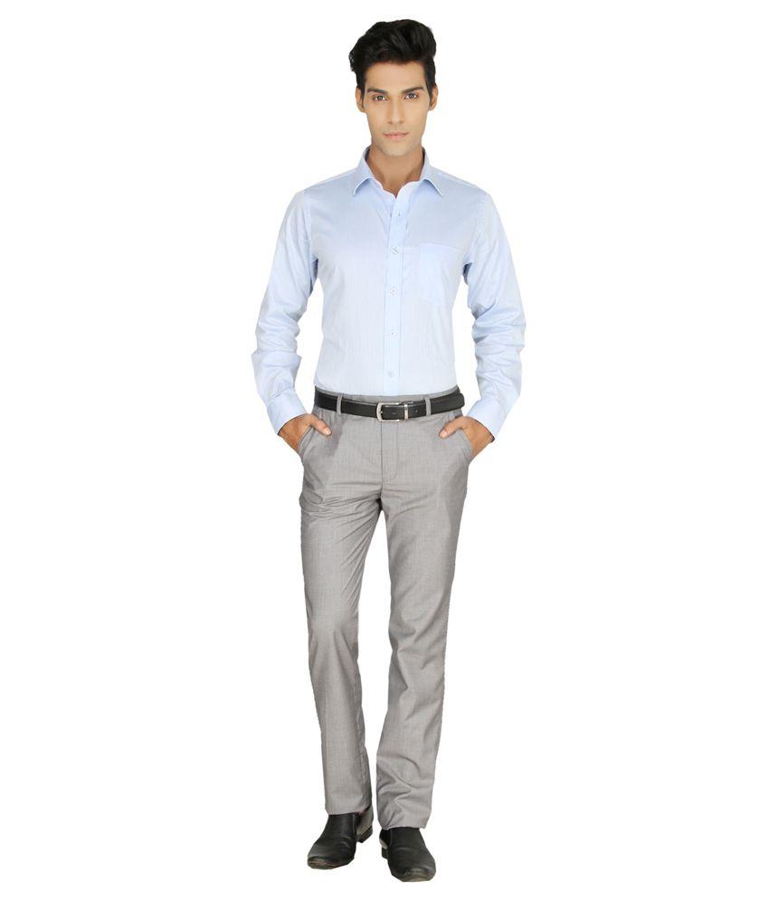 Gansta Gn-51020 Urban Grey Formal Trouser