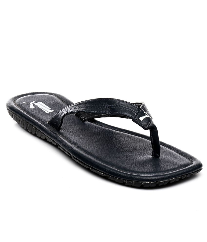 774a6bb01152 Puma Black Slippers Price in India- Buy Puma Black Slippers Online at  Snapdeal