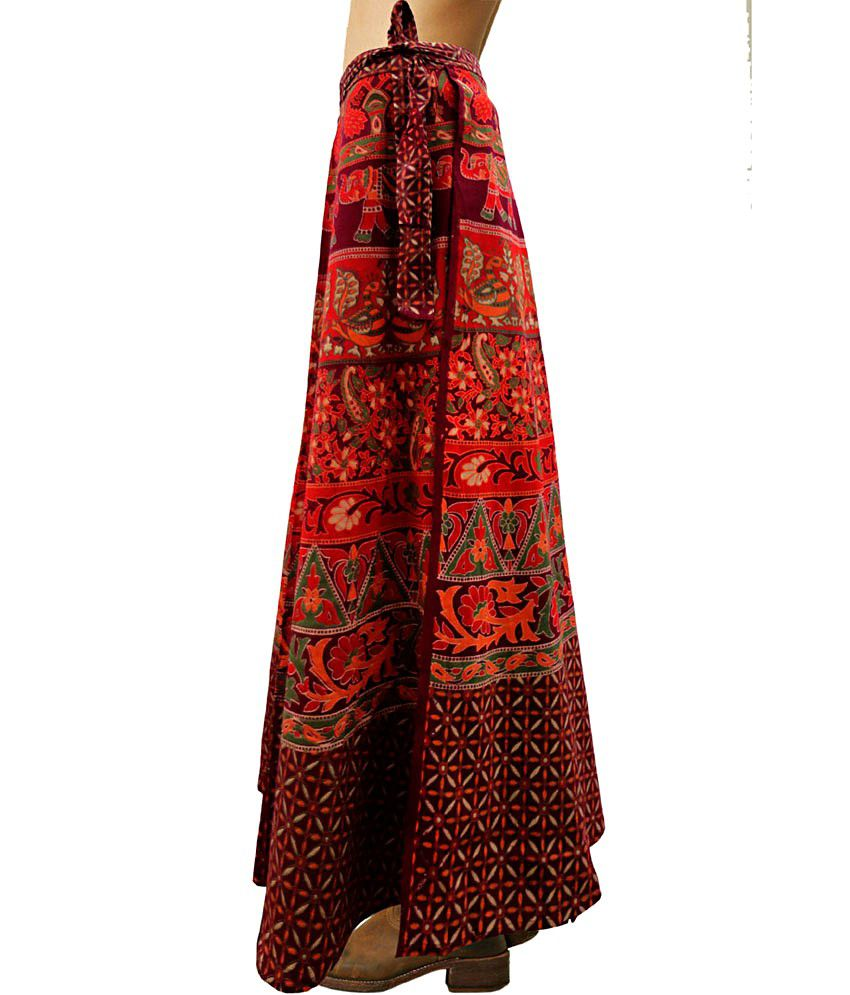 573055928a Ethnic Long Skirts Online India