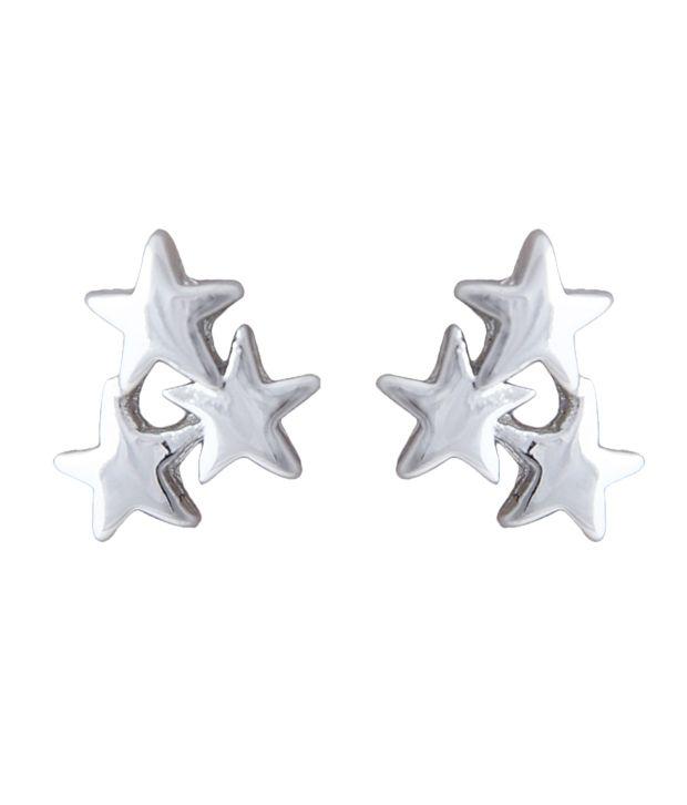 Youshine Twinkles In Trinkets Silver Earrings