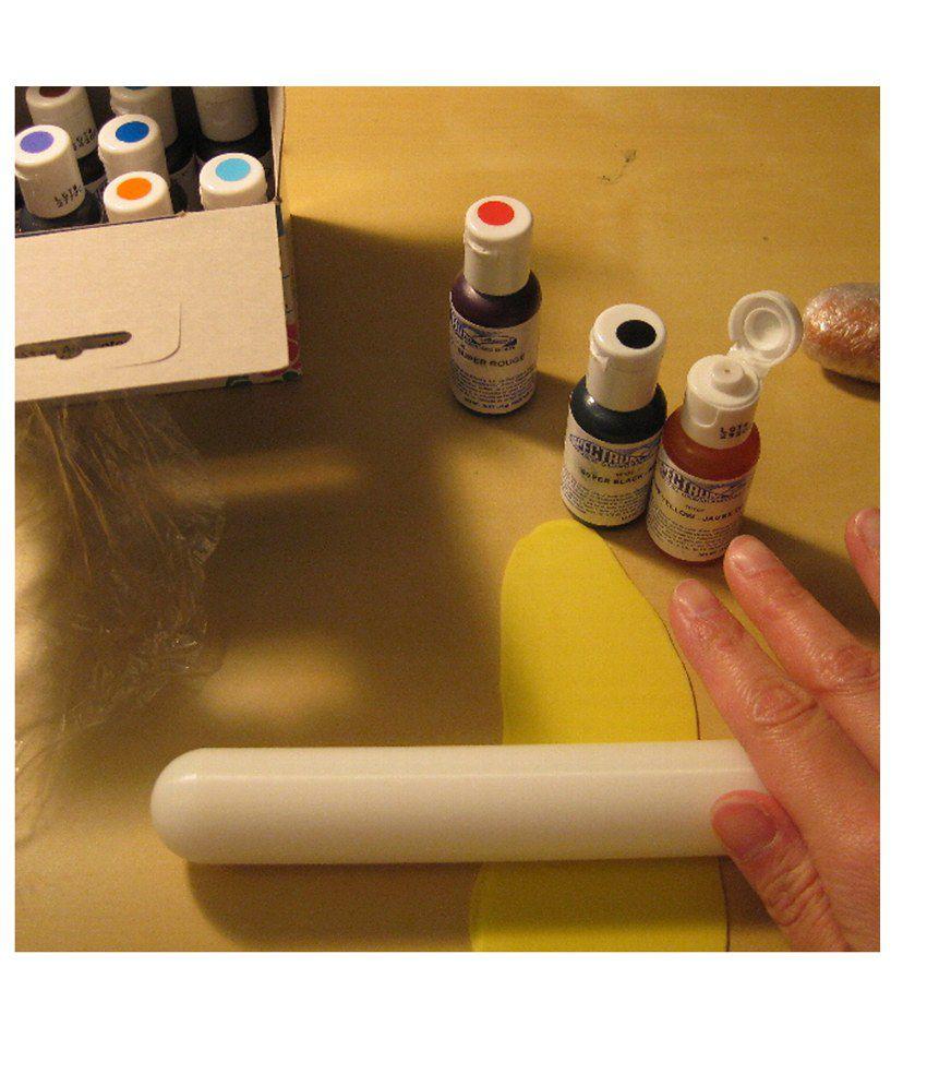Ateco White Plastic Plastic Rolling Pin