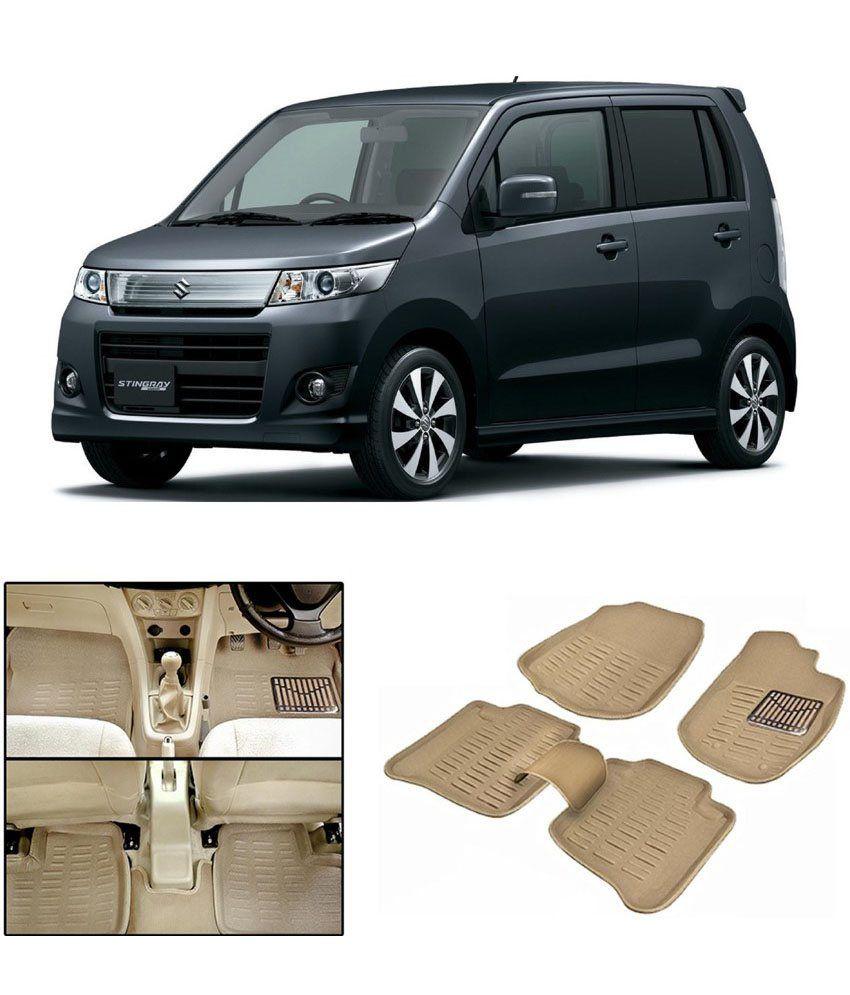 digitru car 3d foot mat wagon r beige buy digitru car 3d foot mat wagon r beige online. Black Bedroom Furniture Sets. Home Design Ideas