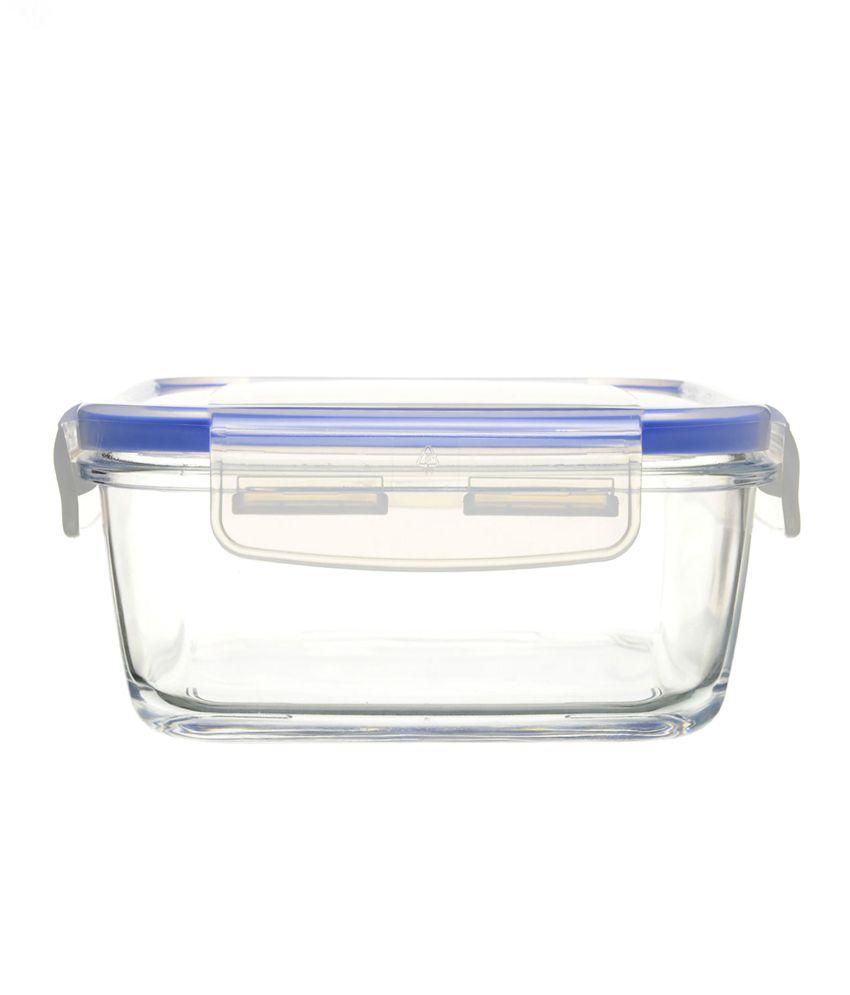 Luminarc Glass Food Storage Container Pure Box Rectangular ...