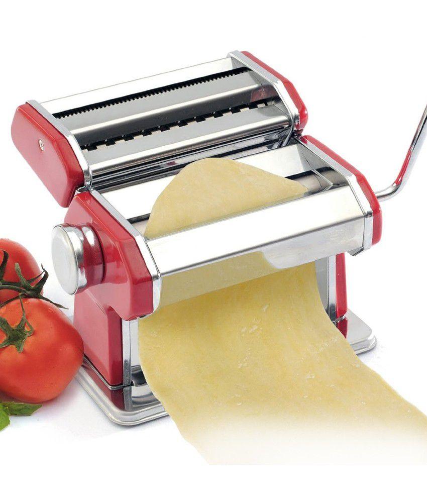 Norpro Red Stainless Steel Norpro Pasta Machine: Buy ...