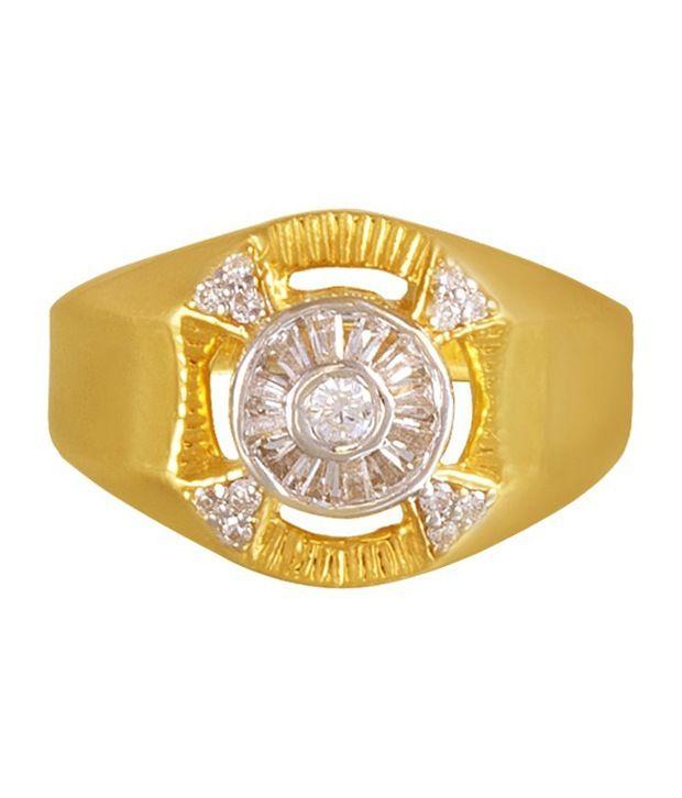 Solar Men s Gold Ring By P N Gadgil Buy Solar Men s Gold Ring By
