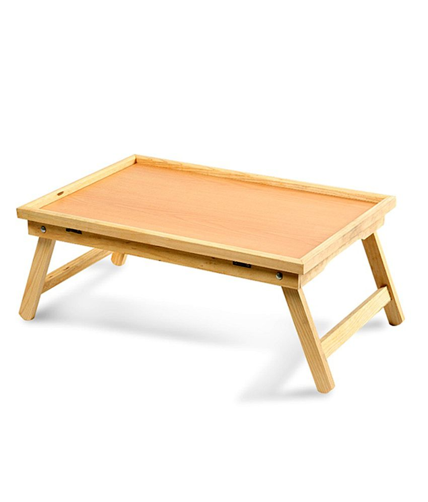 Wooden multipurpose folding bed table buy