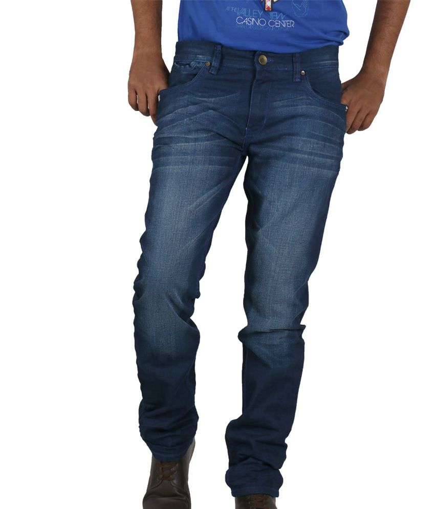Afford Fashion Jeans Blue