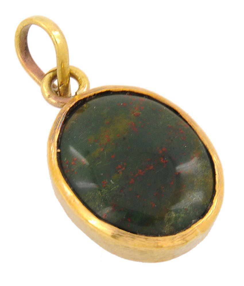 Barishh Gems Pitoniya 25 50 Carat Blood Stone Certified Gemstone
