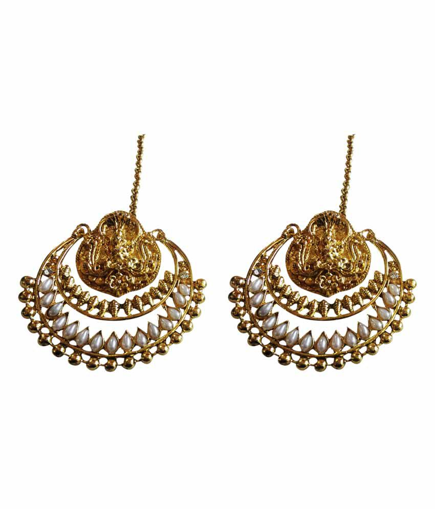 07012b041 Suvi's Deepika's Ramleela Earrings - Buy Suvi's Deepika's Ramleela Earrings  Online at Best Prices in India on Snapdeal