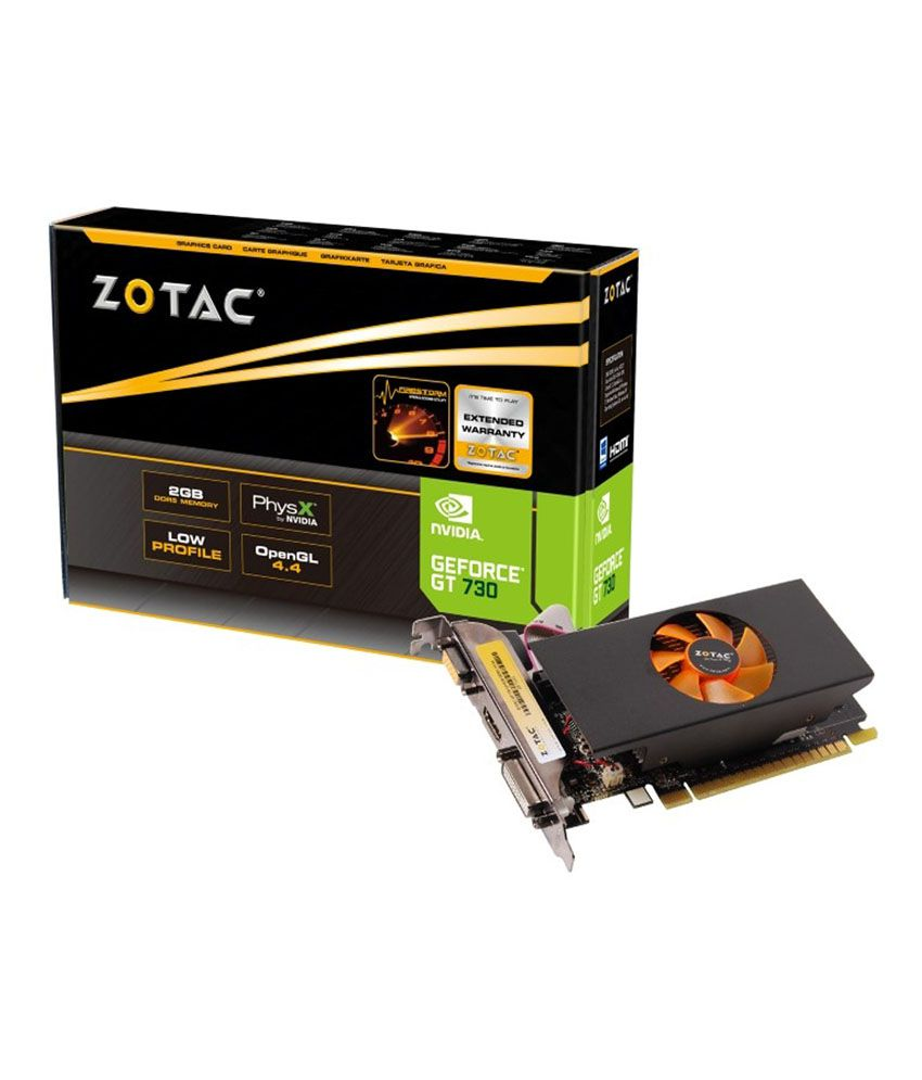 Zotac NVIDIA GT 730 2GB DDR5 Graphics card