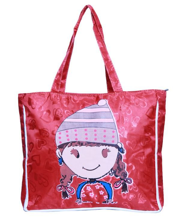 A-Maze Bob-Can-09-Red Red Shoulder Bags