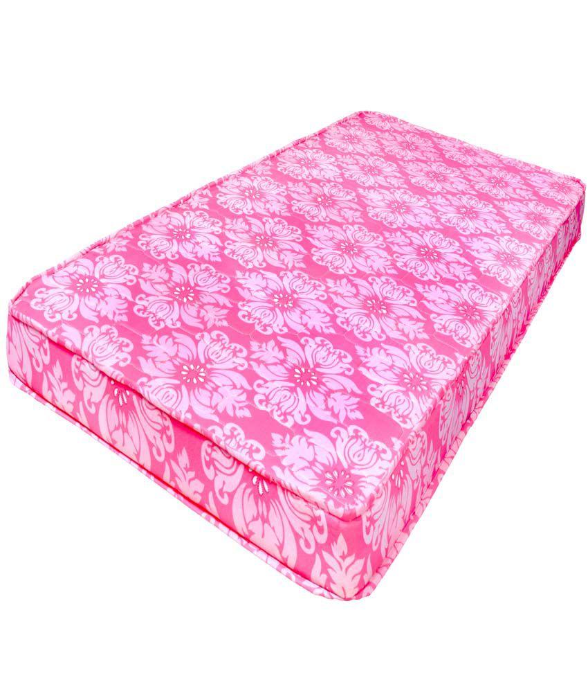 Comforthome Pink Colour Single Mattress