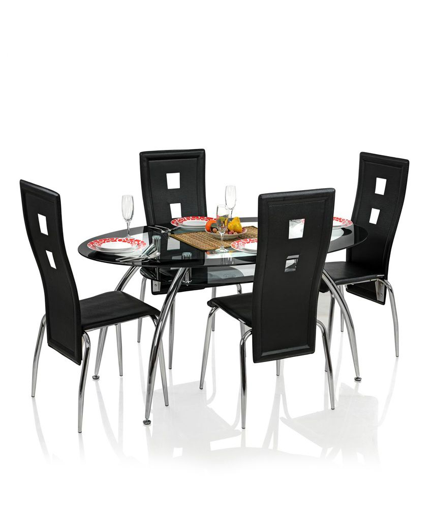 Royaloak Roger Dining Set With 4 Chairs