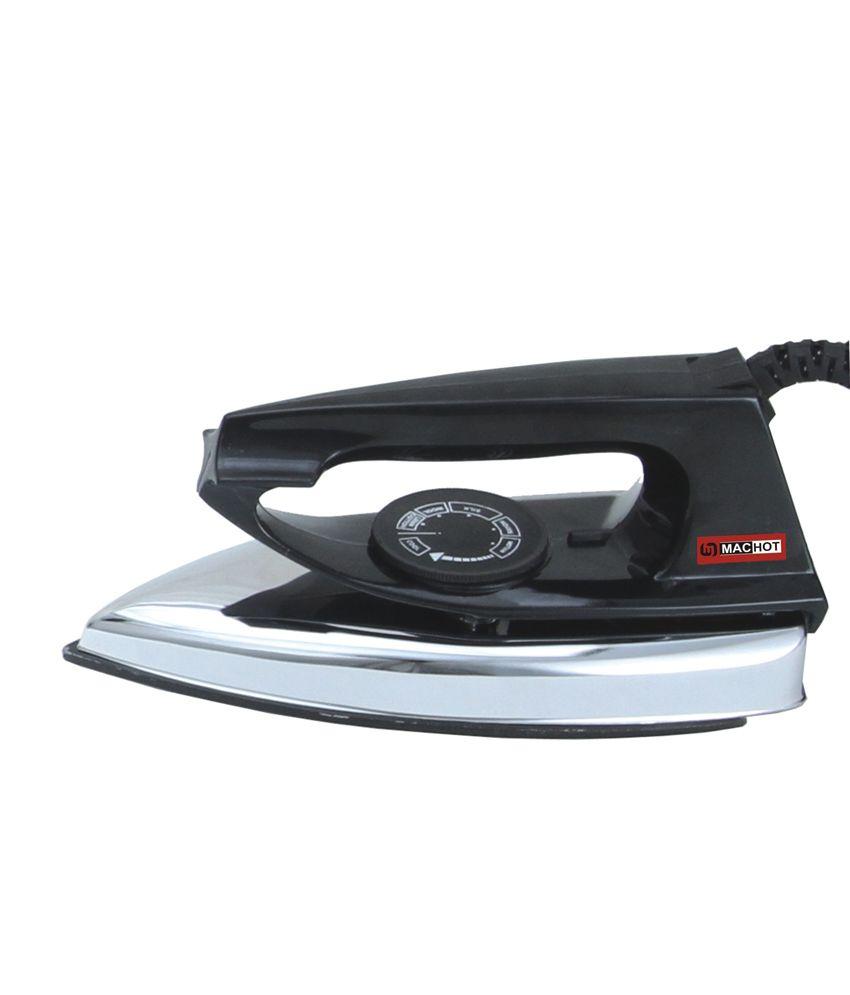 Machot Regular Model Dry Iron Black
