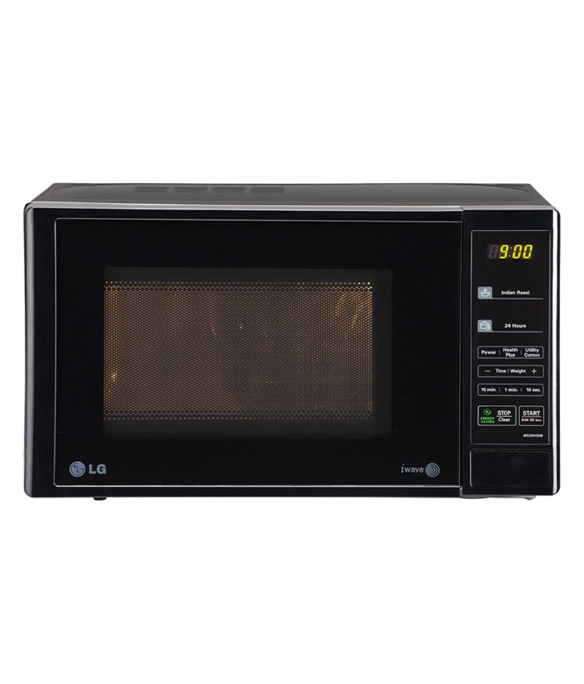 LG 20 LTR MS2043DB Solo Microwave Oven