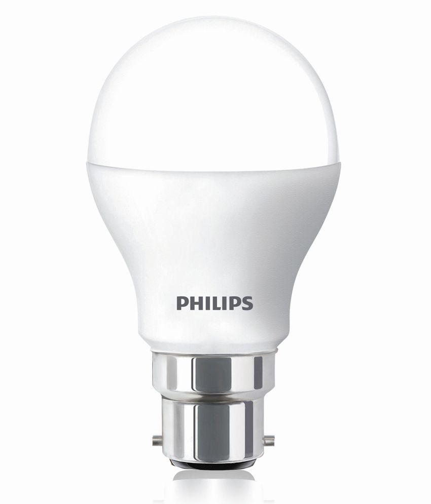 Philips White Ace Saver 9 Watt Led Bulb