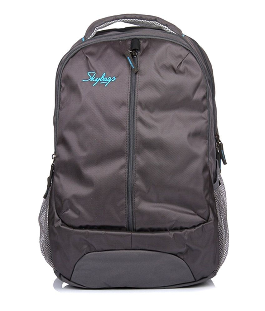 Skybags 15 Inches Beetle 04 Grey Laptop Backpack
