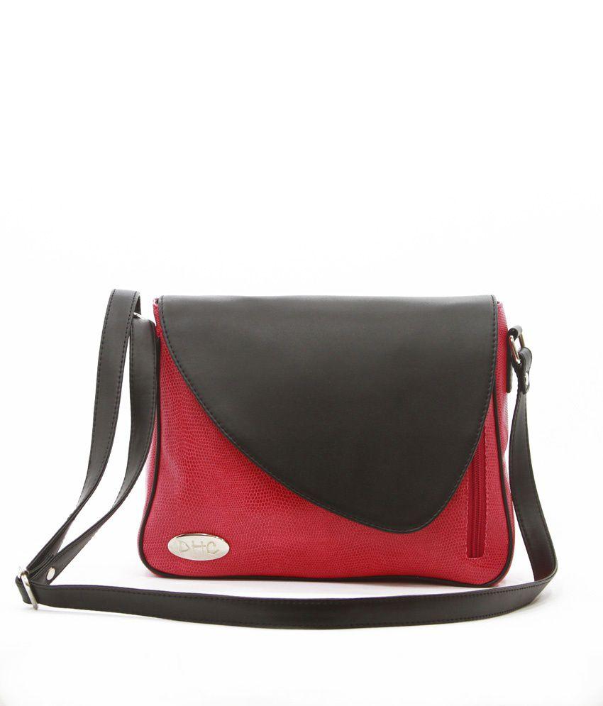 Dhc Classic Red Stylish Women Handbags