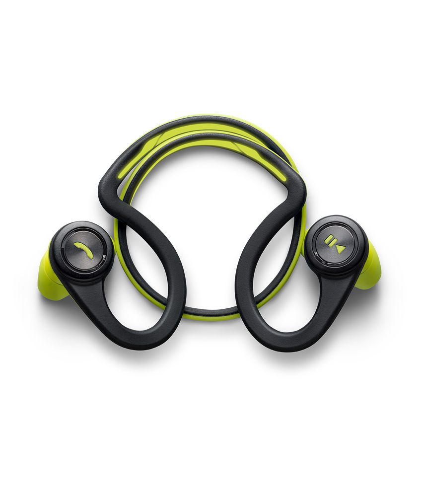 203bcae4c8e Plantronics Backbeat Fit Green Wireless Headphones - Buy Plantronics  Backbeat Fit Green Wireless Headphones Online at Best Prices in India on  Snapdeal