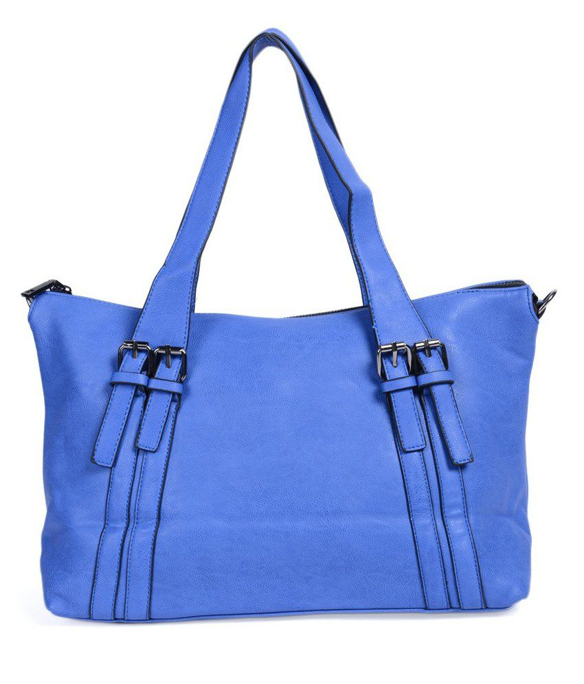 ADISA Blue Stylish Women's P.u Handbag