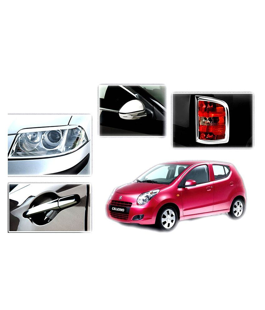Shopper's Hub - Chrome Plated Premium Quality Accessories For Maruti Suzuki Celerio: Buy Shopper