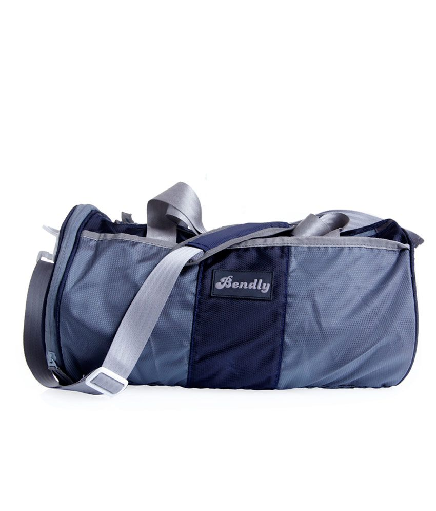 Bendly Navy Blue gear Gym Bag