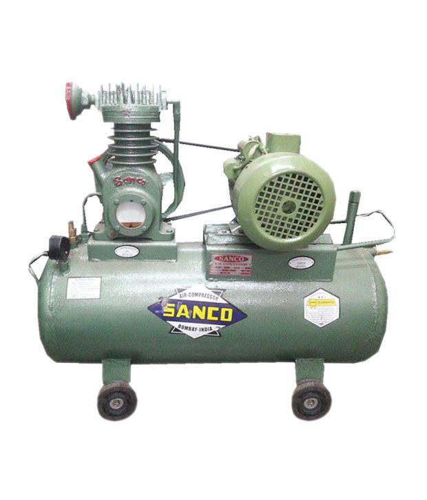 Sanco 0 25 Hp Heavy duty air pressor with 0 25 hp Full copper