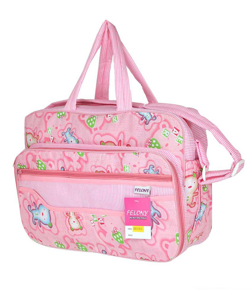 4d1c6d0622 Felony Pink Baby Bag: Buy Felony Pink Baby Bag at Best Prices in India -  Snapdeal