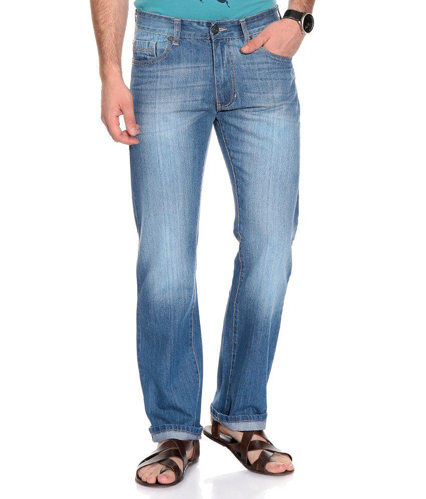 Newport Blue Regular  Jeans