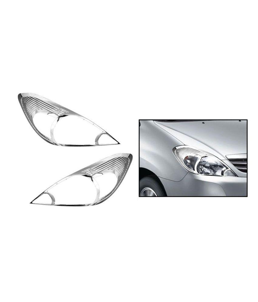 Speedwav Chrome Headlight Molding Mahindra Xylo Type 1 2007 09 Buy Speedwav Chrome Headlight
