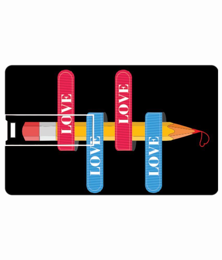 Printland Arrowed 4GB Card 4 GB Pen DrivesMulticolor
