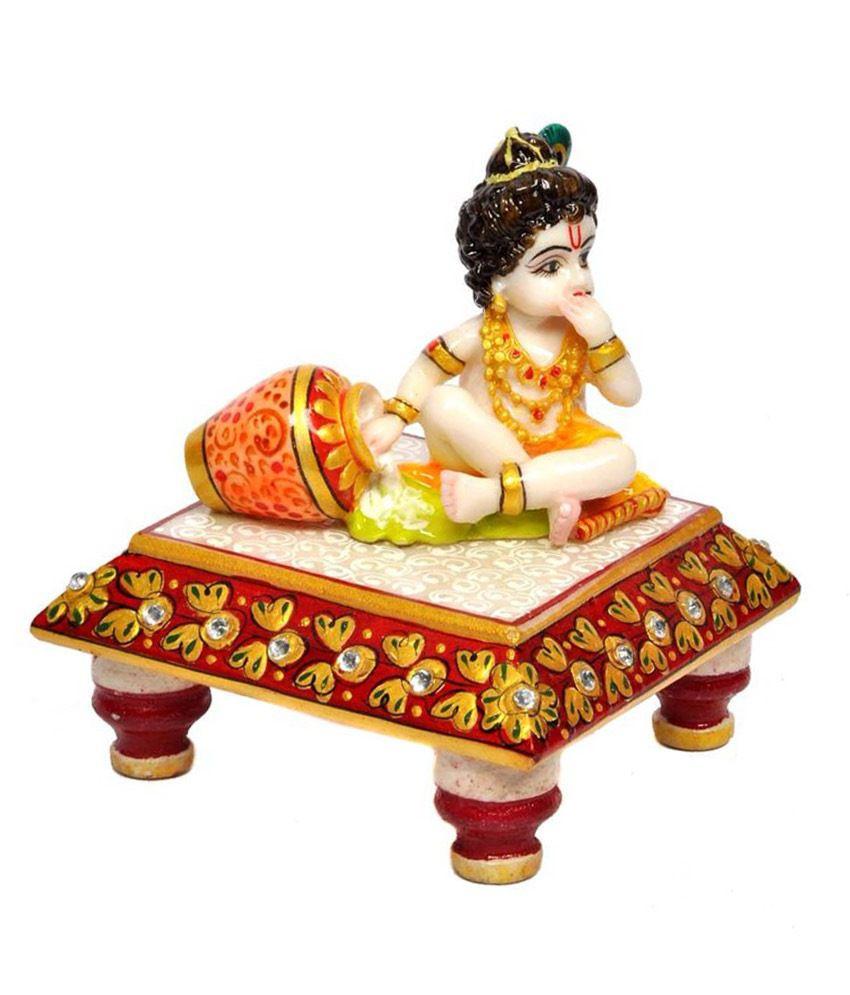 Aura Handicraft Home Decor Marble Laddu Gopal Buy Aura