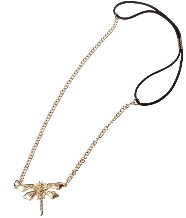 Cinderella Fashion Jewelry  Golden Finish Helicopter Fly Hair Band