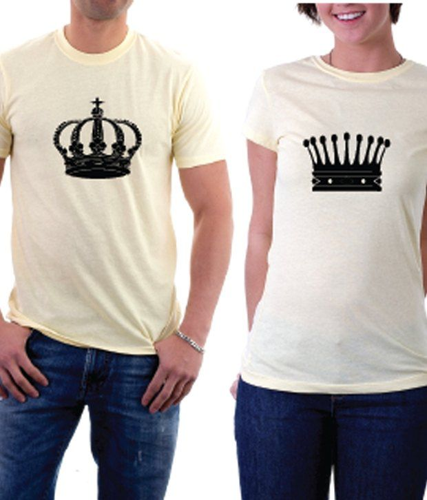 La King And Queen Couple Tshirt