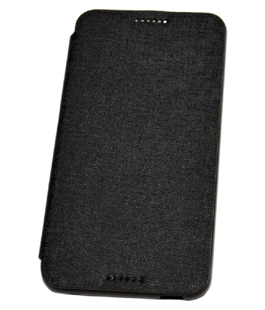 Ncase Flip Cover For Htc Desire 816 - Black