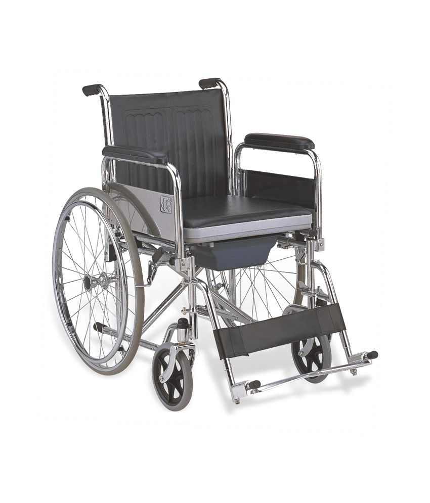 olex wheelchair with commode buy olex wheelchair with commode at best prices in india snapdeal. Black Bedroom Furniture Sets. Home Design Ideas