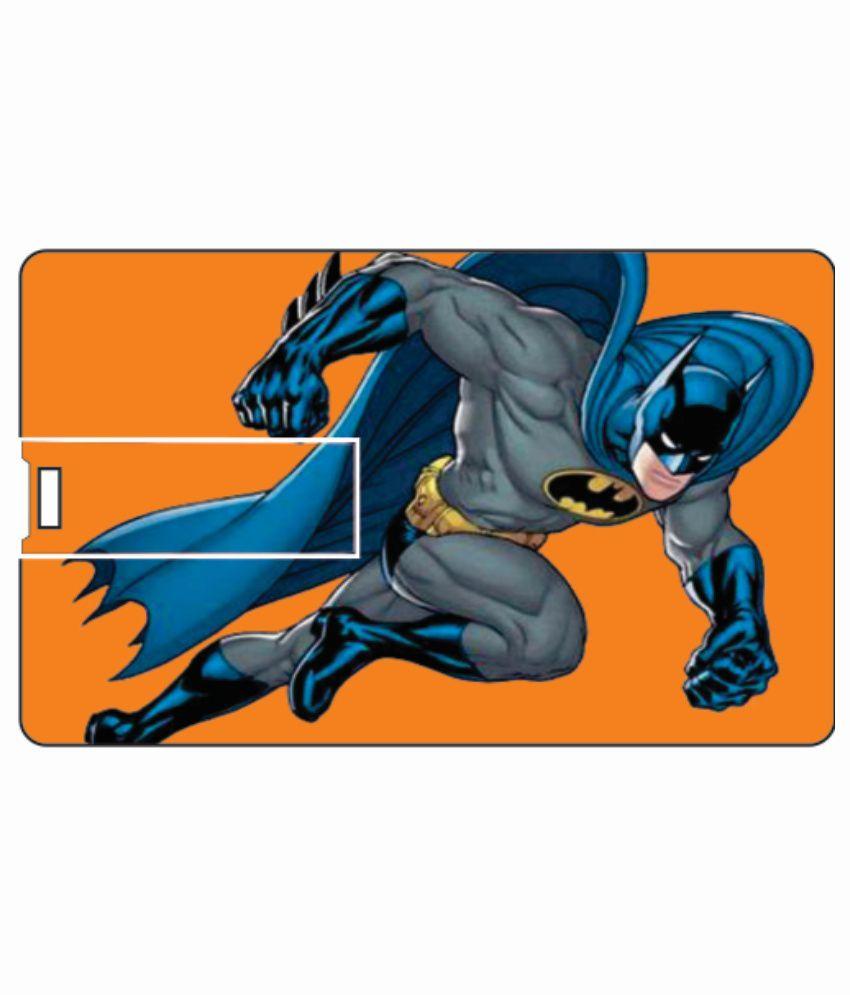 Printland fly batman 4GB Card 4 GB Pen DrivesMulticolor