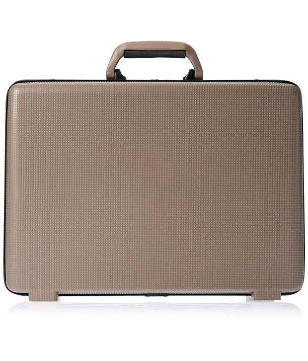 Safari Arrow Ct 2 Brown Medium Office Briefcase