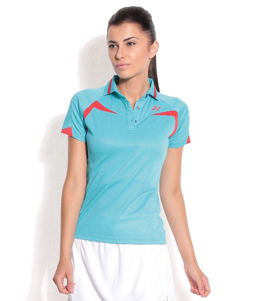 Yonex T-Shirt Pl6 20173B TW2014 Ocean Blue
