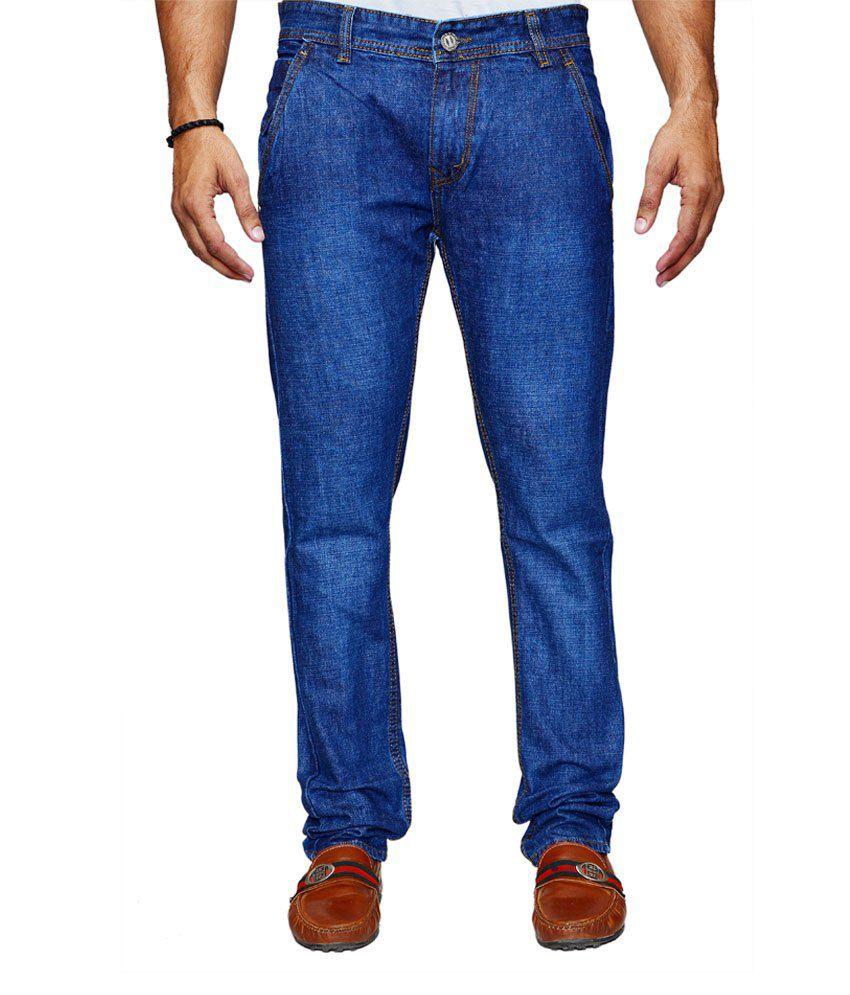 Denim Cafe Blue Stretchable Jeans