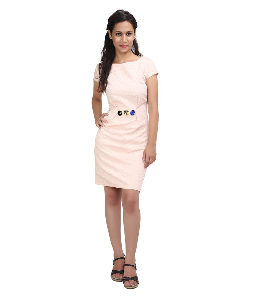 5816a750102 Sheezworld Party Wear With Stone Work Peach Colour Short Dress - Buy  Sheezworld Party Wear With Stone Work Peach Colour Short Dress Online at  Best Prices in ...
