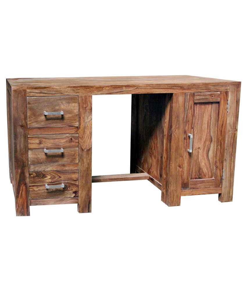 Solid Wood Study Table Buy Solid Wood Study Table Online