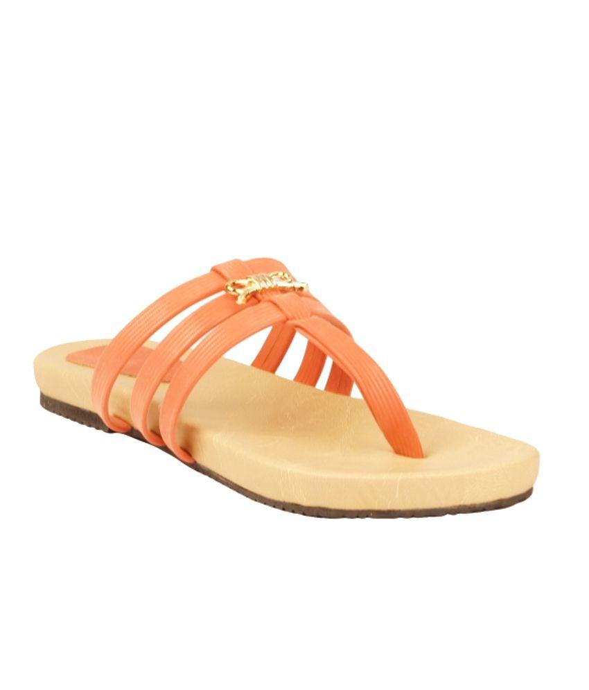 Zachho Orange Flat