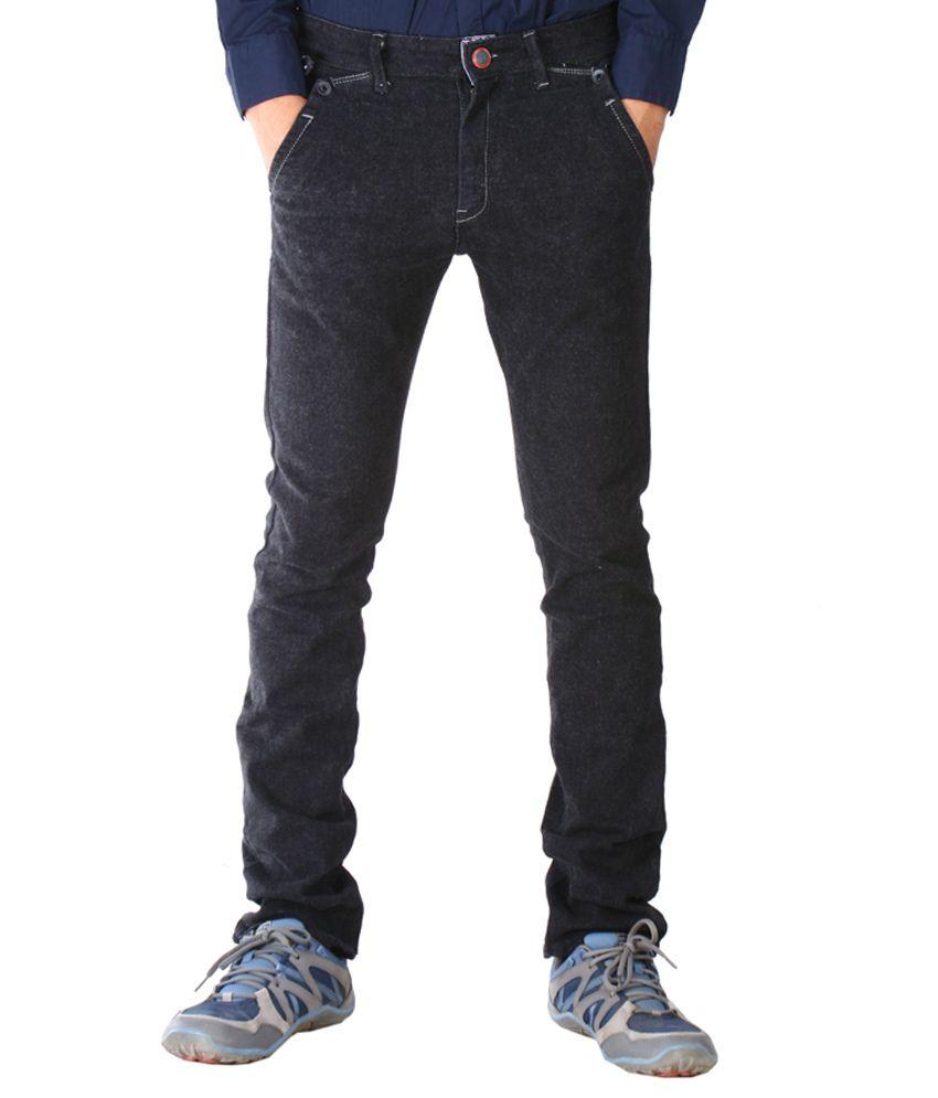 Never 9 Black Slim Fit Jeans