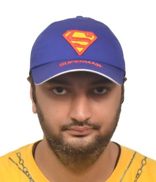 M/S Merchant Eshop Blue Superman Cap