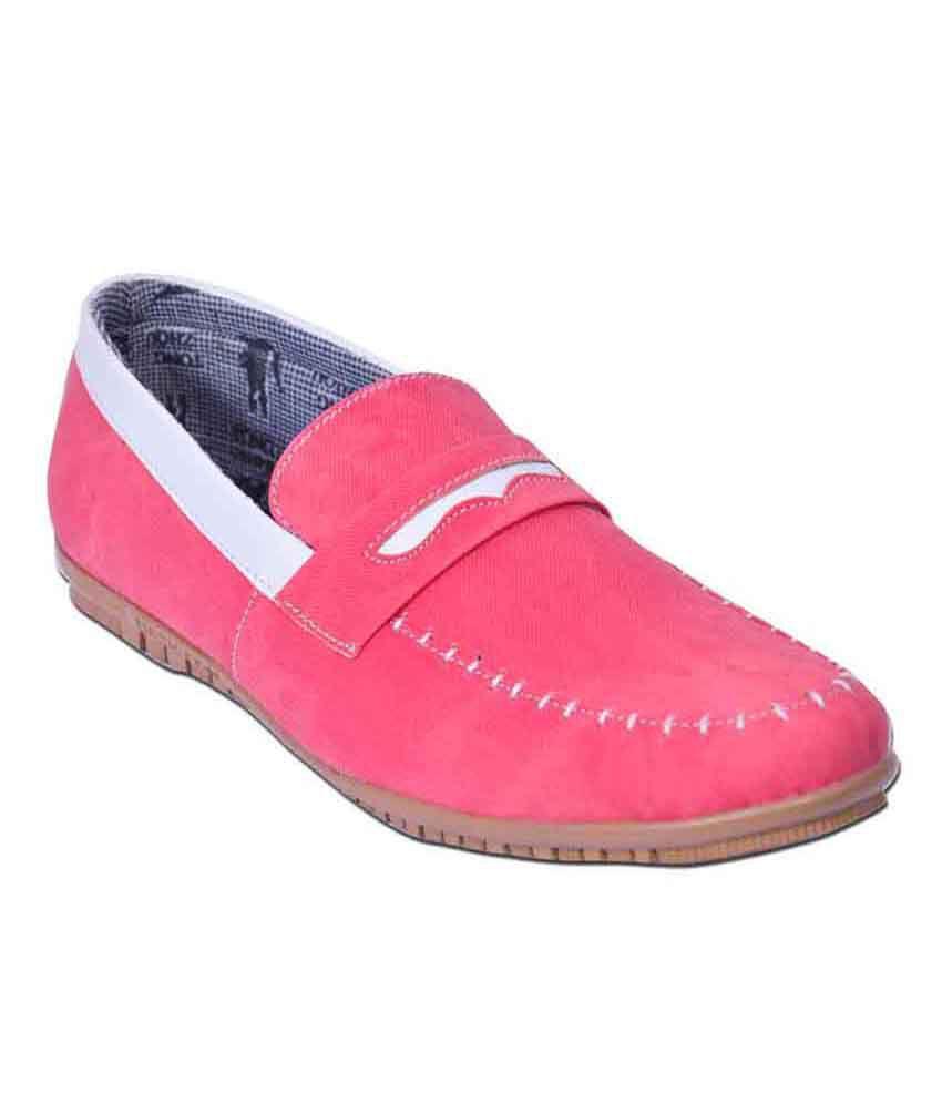 Domestiq Red Loafers